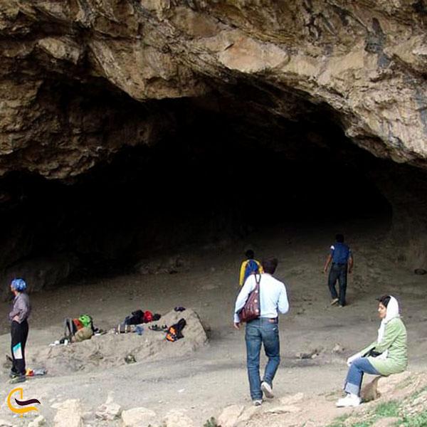 عکس ورودی غار خمیره تهران