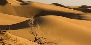 کویر بند ریگ در اصفهان