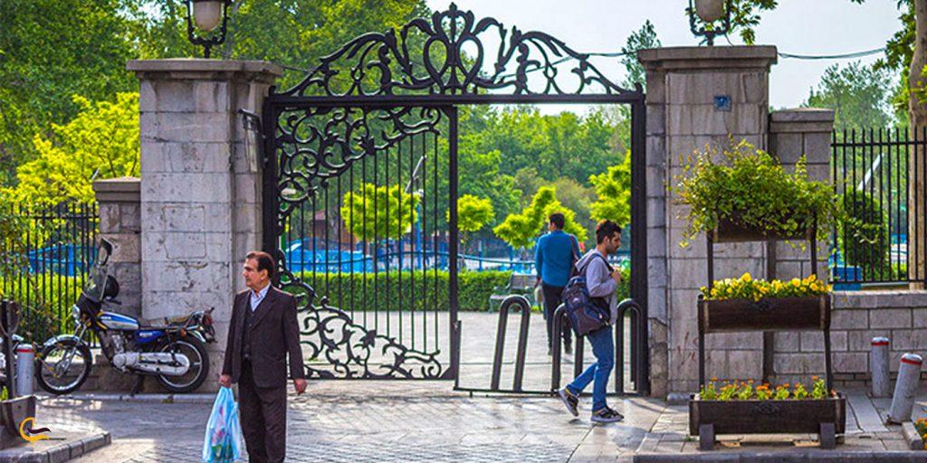 ورودی پارک شهر تهران