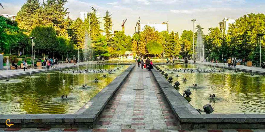 آبنماهای پارک شهر