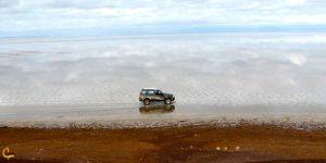 دریاچه نمک در آران و بیدگل