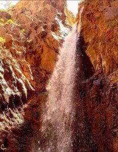 نمای کلی آبشار