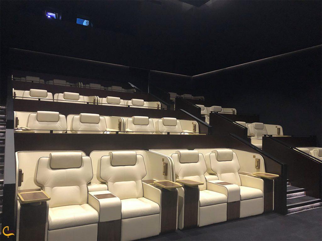 سینمای لاکچری ریل در دبی مال