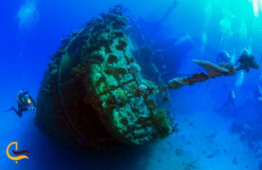 سایت غواصی کشتی مغروق داما