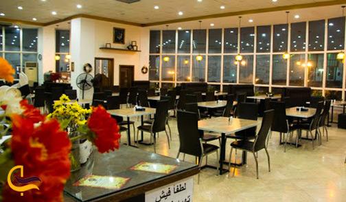 نمای داخلی رستوران خاطره
