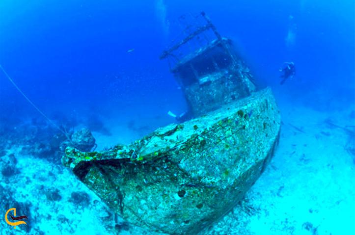 کشتی مغروق داما