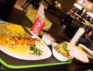 غذای ایرانی در فودلند در کیش