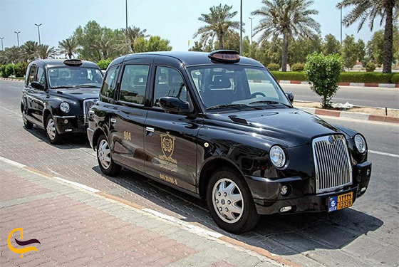 تاکسی لندن در کیش