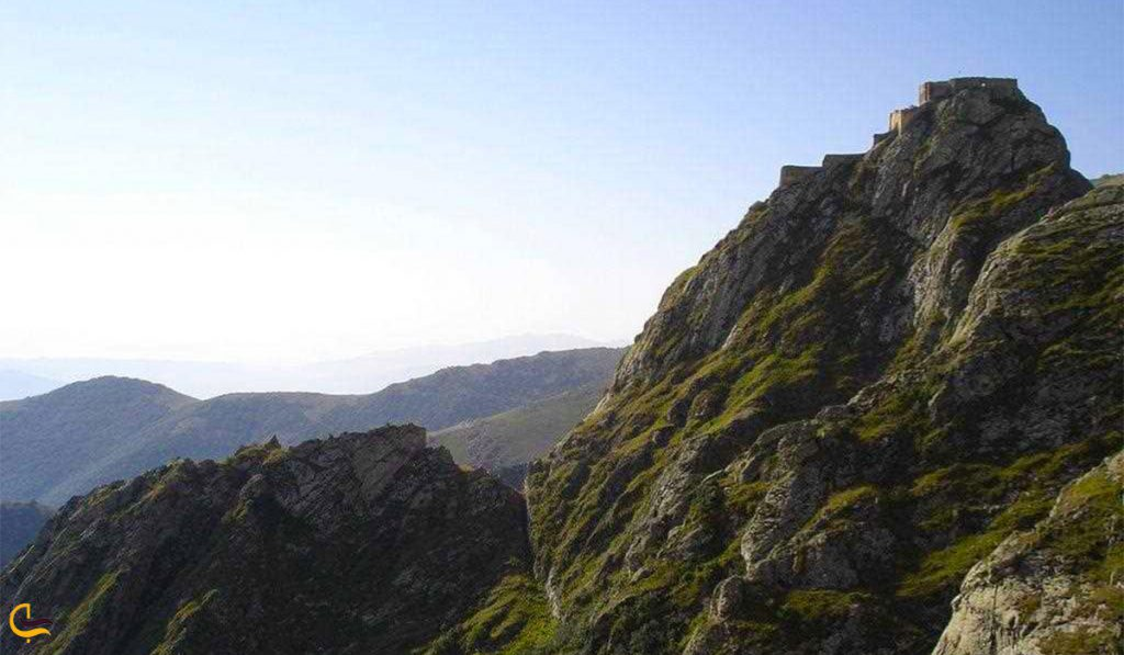 نمایی از قلعه بابک در تبریز