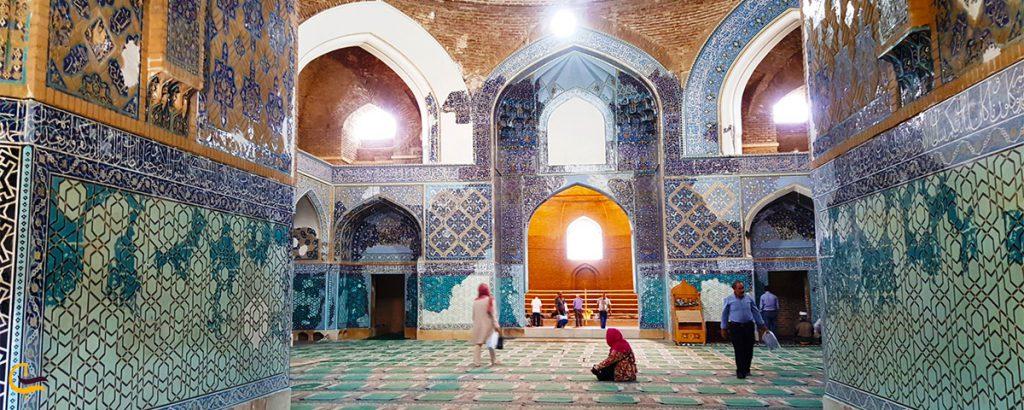 داخل مسجد کبود تبریز