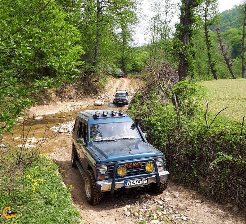 آفرود سواری در مسیر دریاچه چورت