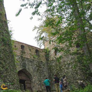 ورودی قلعه هزارپله