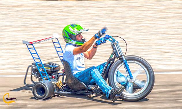 موتورسواری در پارس سافاری کیش