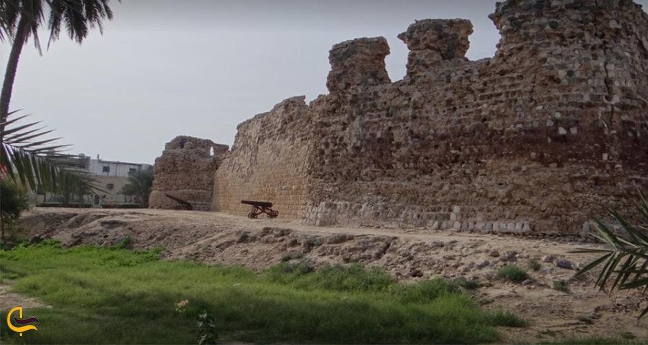 قلعه پرتغالی ها جاذبه های دیدنی قشم