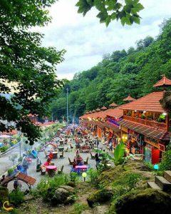 بازارچه قلعه روخون