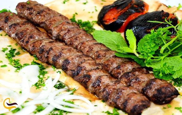 غذاهای خوشمزه در رستوران های ارژن