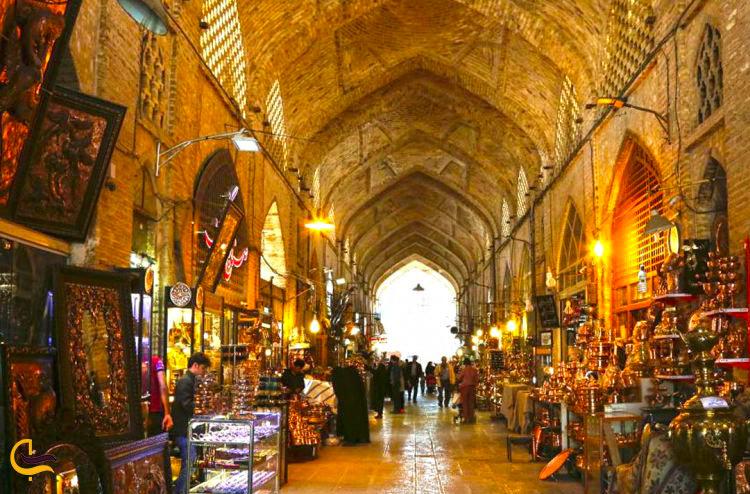 بازار مسگرای شیراز