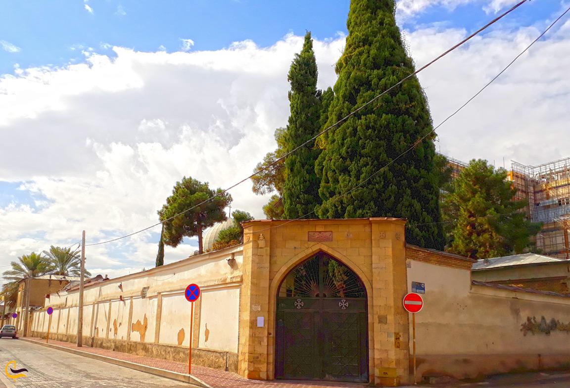 نمای بیرون کلیسای سایمون در شیراز