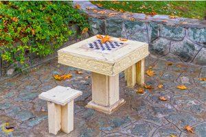 میز شطرنج در پارک شهر تهران