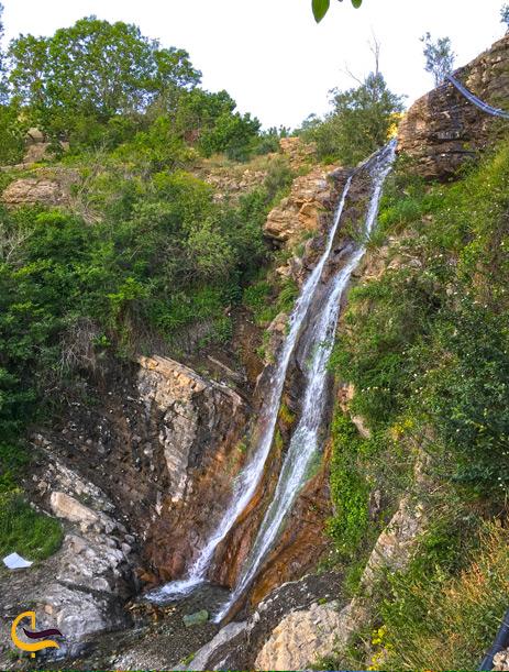 آبشار هیجان انگیز افجه