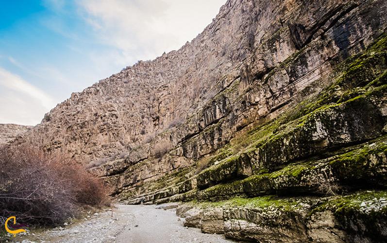 راه رسیدن به دره شمخال