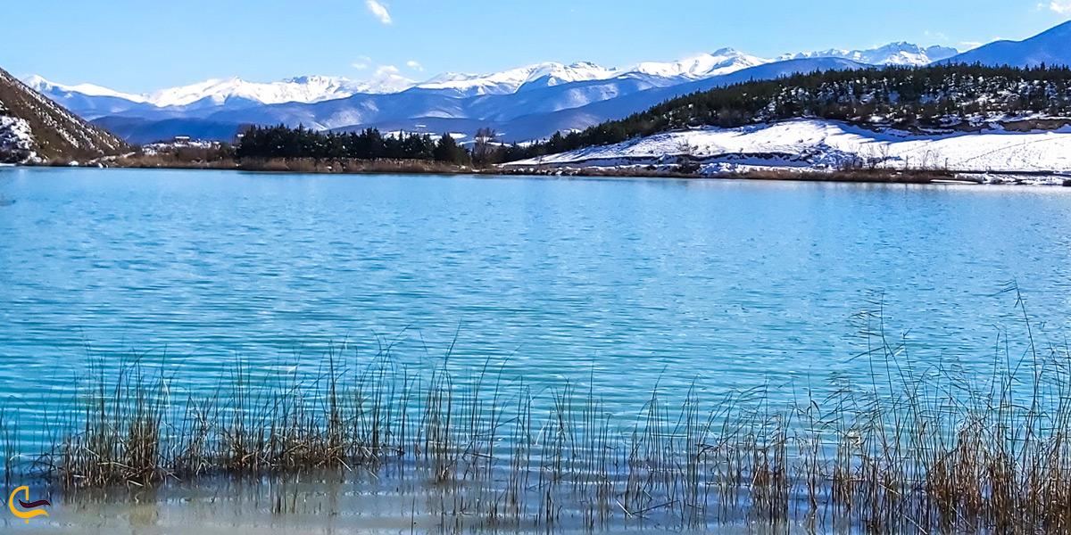 دریاچه ولشت در زمستان