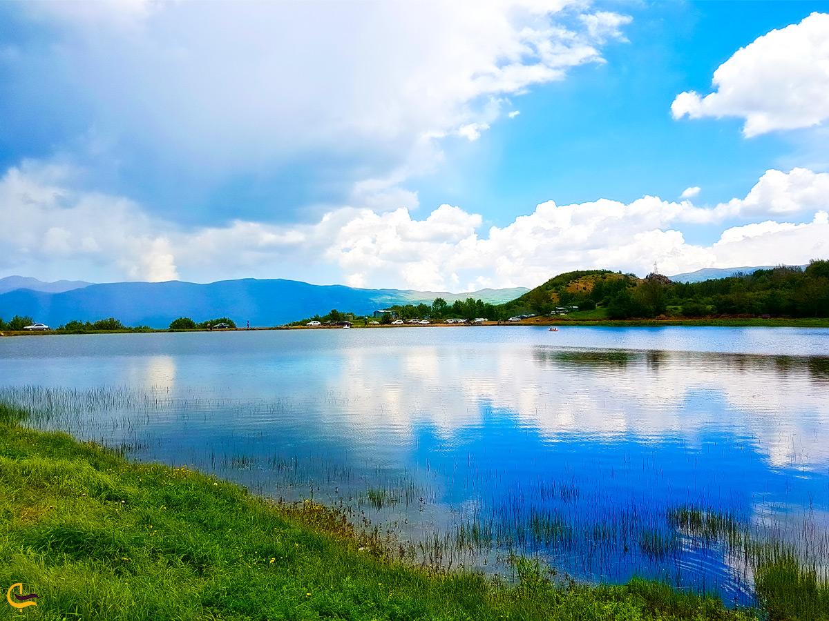 تصویر زیبا از دریاچه ویستان بره سر ایران