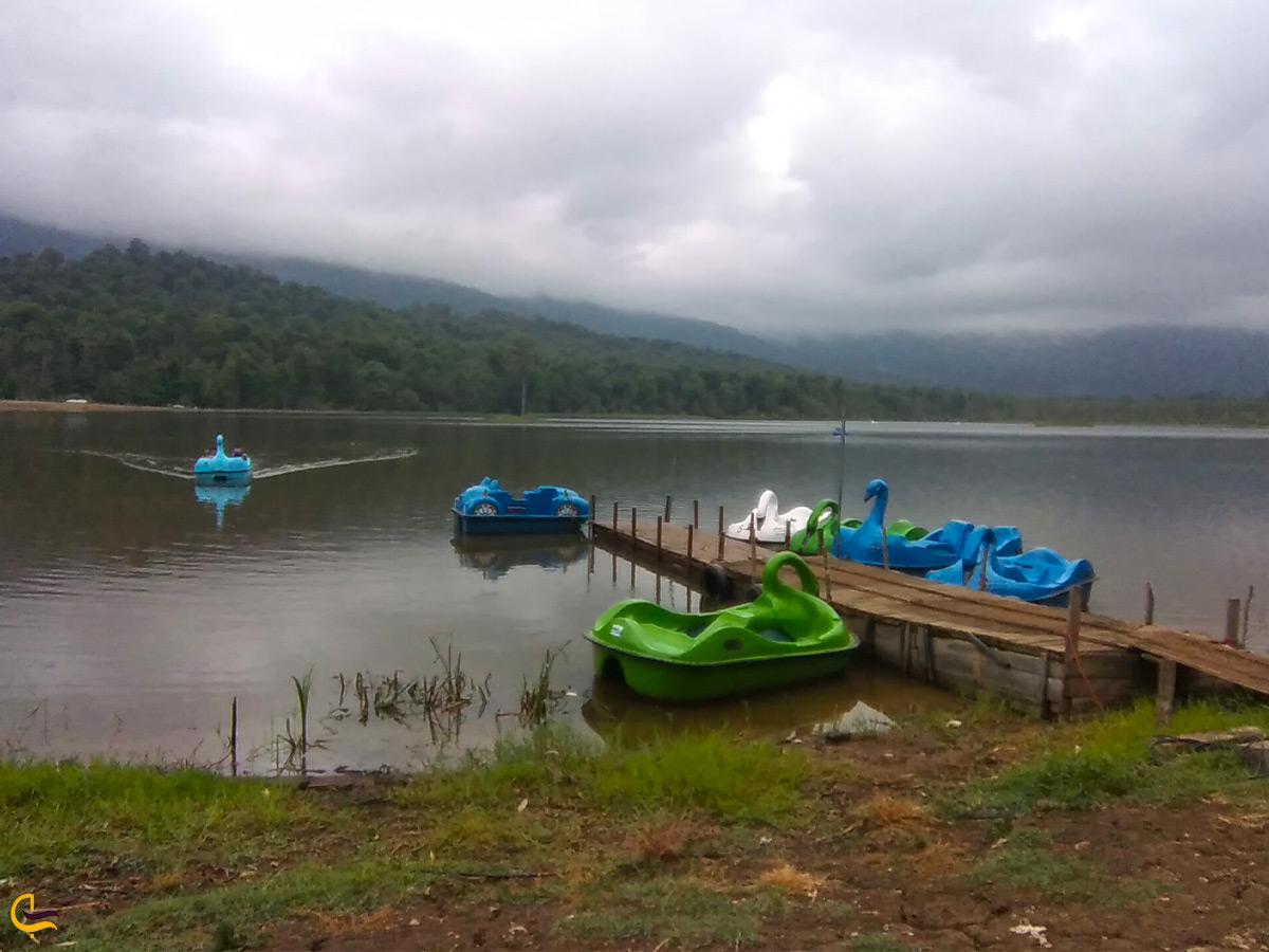 قایقسواری در دریاچه الندان