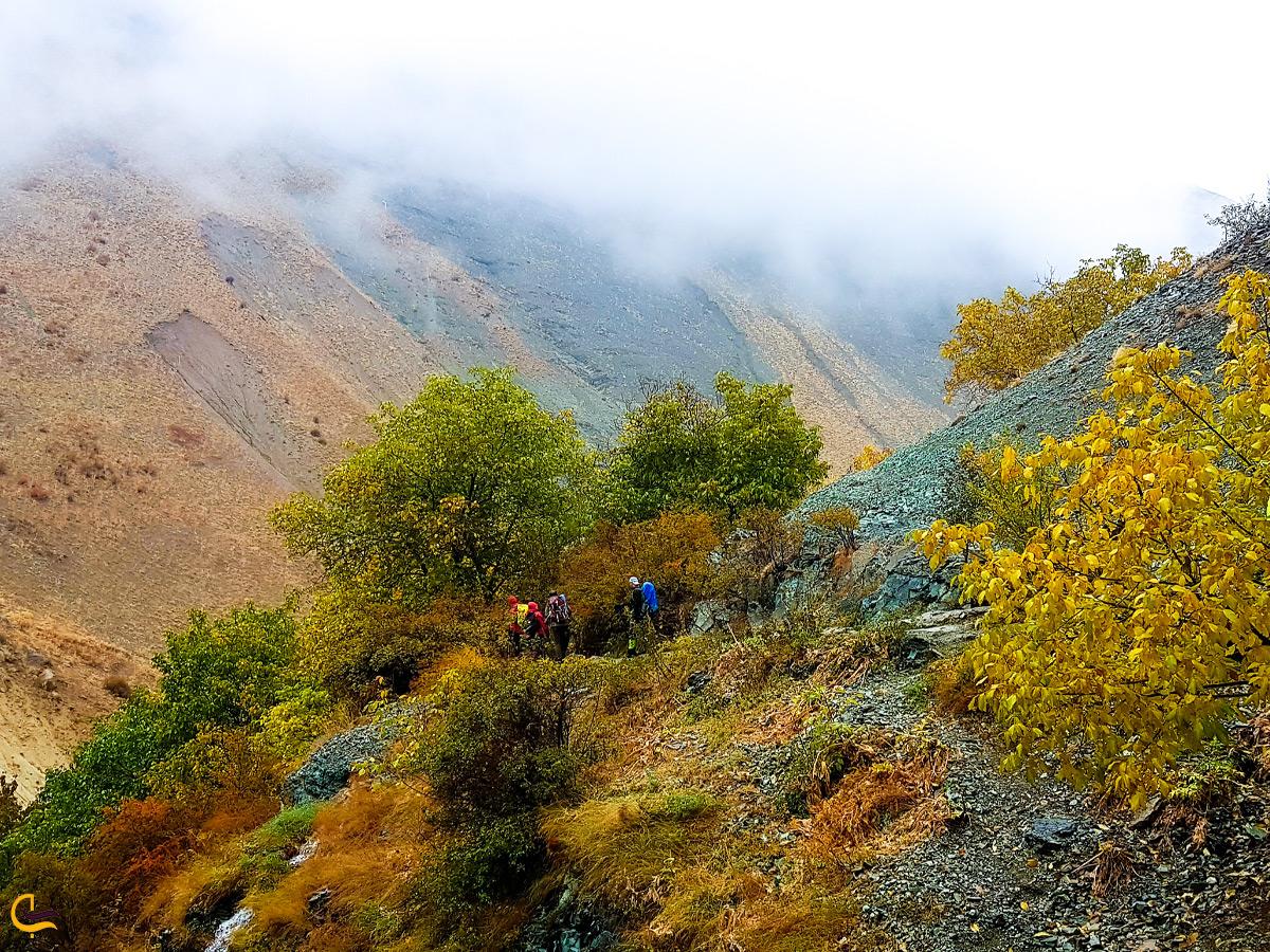 راه رسیدن به روستای آهار
