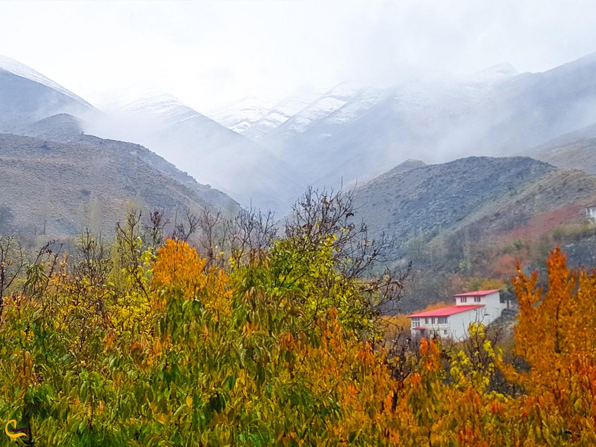 روستای زیبای آهار در نزدیکی تهران
