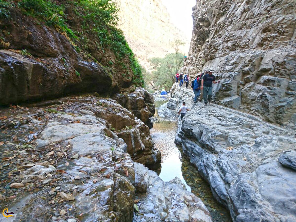 صخرهنوردی اطراف آبشار خور