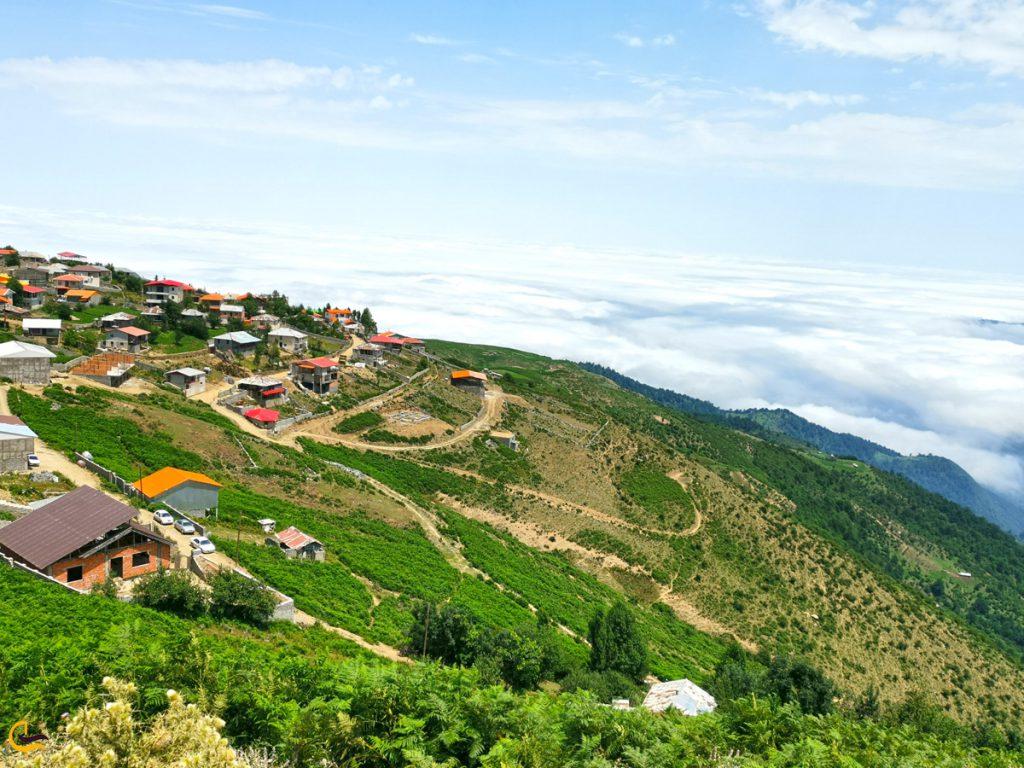بافت روستایی فیلبند در شمال ایران
