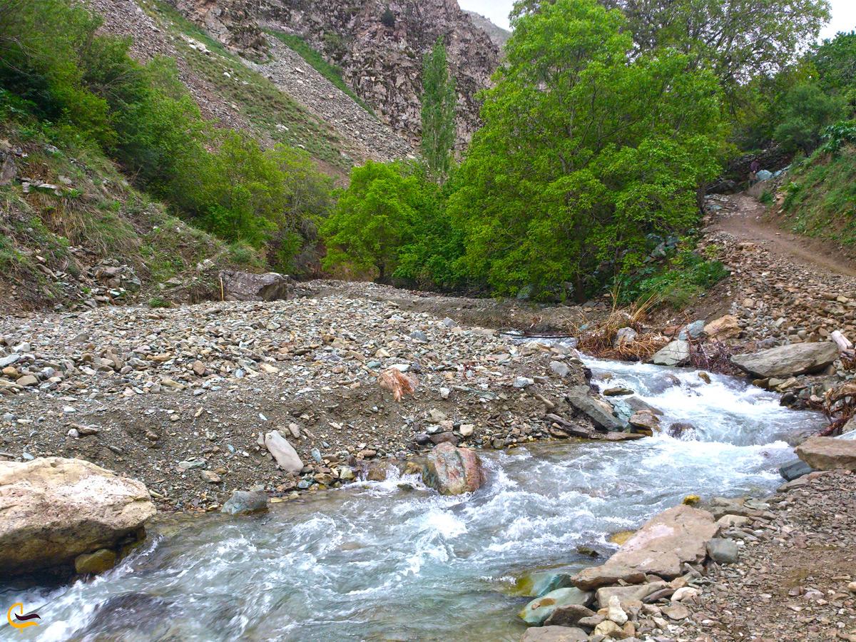 رودخانه روستای آهار
