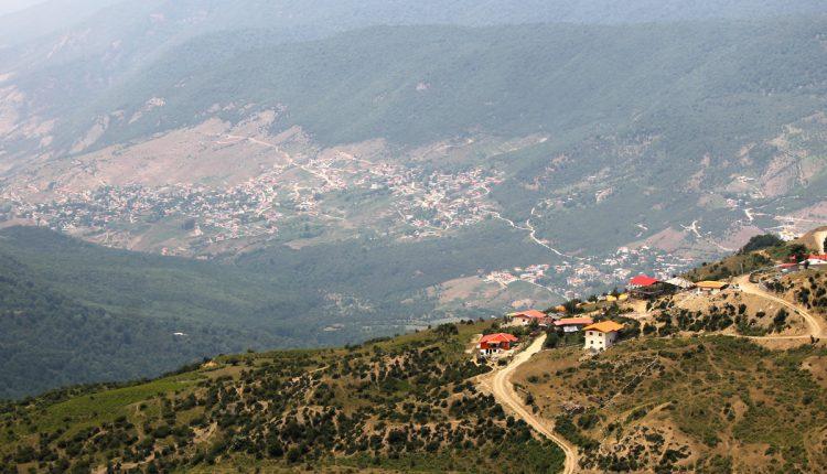 بافت روستایی در فیلبند