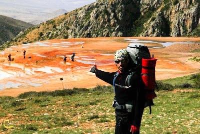 کوهنوردی به سمت چشمه های سورت