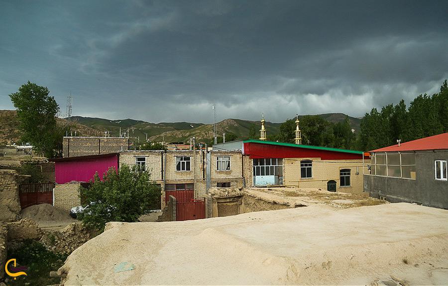 هوای ابری در روستای چناقچی علیا