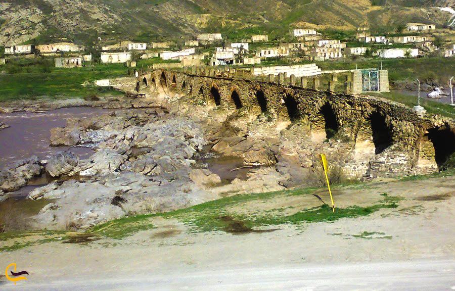 پل معروف روستای چناقچی علیا