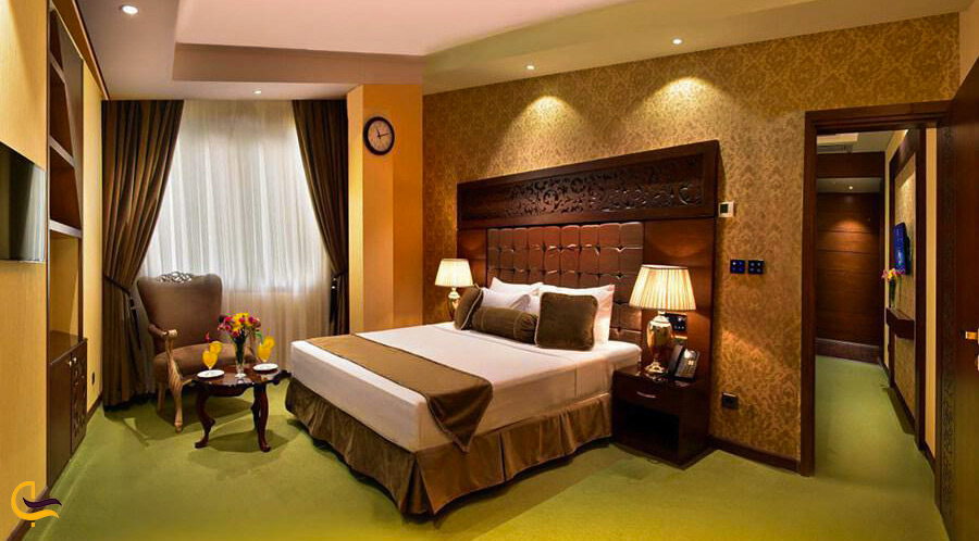 نمای داخلی از هتل الماس نوین