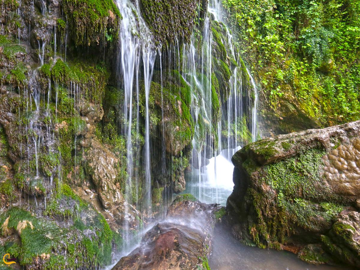 آبشار کبودوال در گلستان