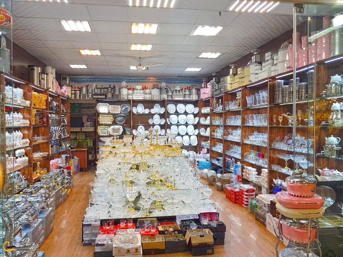 وسایل آشپزخانه در بازار امیر مشهد