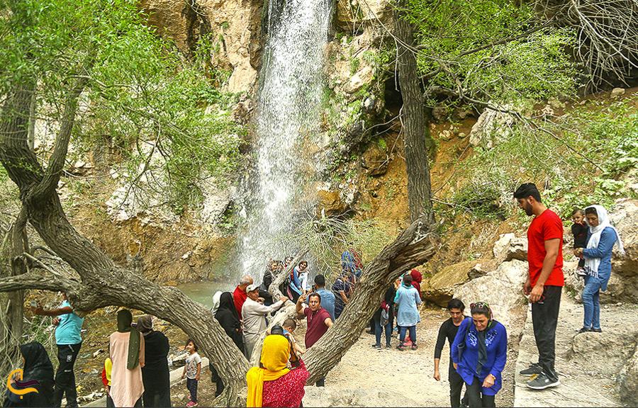 بازدید گردشگران از روستای چناقچی علیا