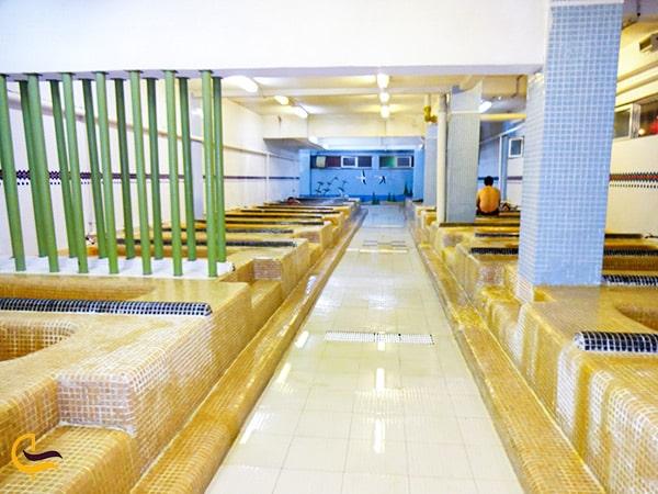فضای داخلی مجتمع آبدرمانی سبلان