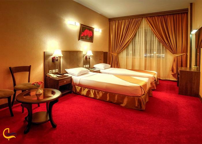 نمای داخلی هتل کیانا