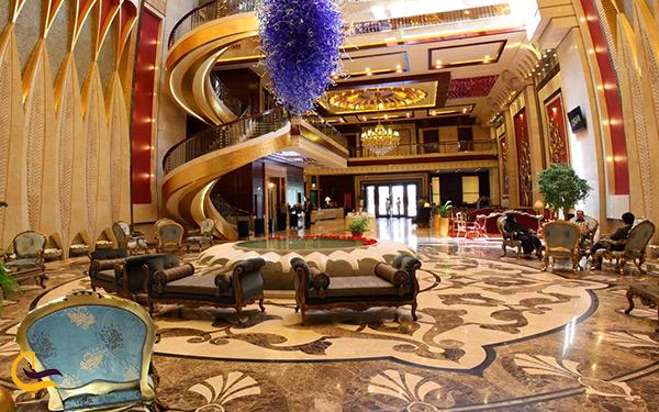 فضای داخلی هتل درویشی مشهد