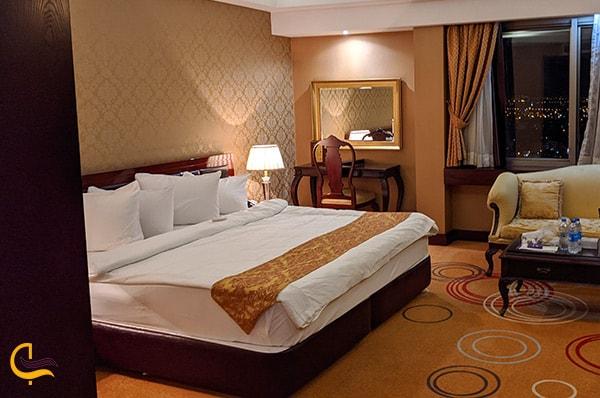 تصویر زیبای اتاق وی ای پی و لوکس هتل گرند شیراز