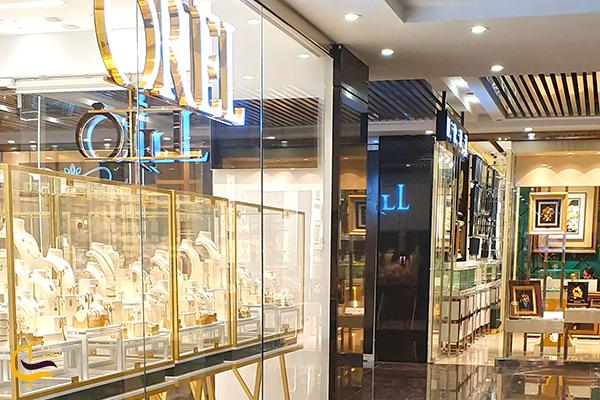 نمای زیبا مغازه طلا و جواهر در اپال سنتر