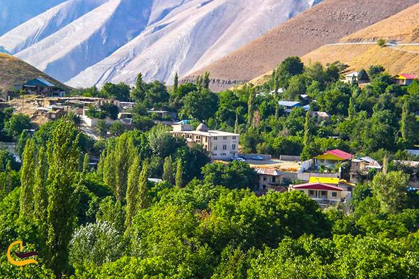 تصویر روستای زیبا ارنگه