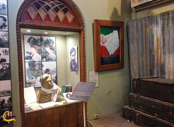 عکس نمای داخل موزه سینمایی باغ فردوس تهران
