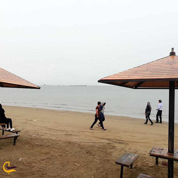 آلاچیق های پارک ساحلی بندرعباس