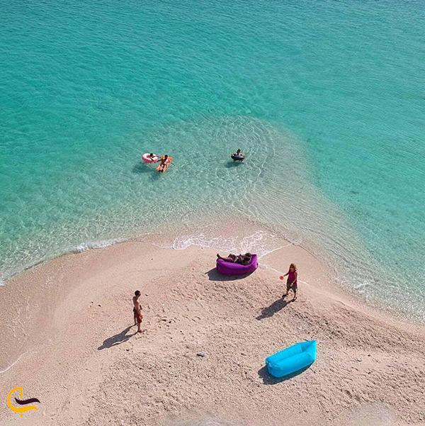 جزیره زیبای مارو از نمای بالا
